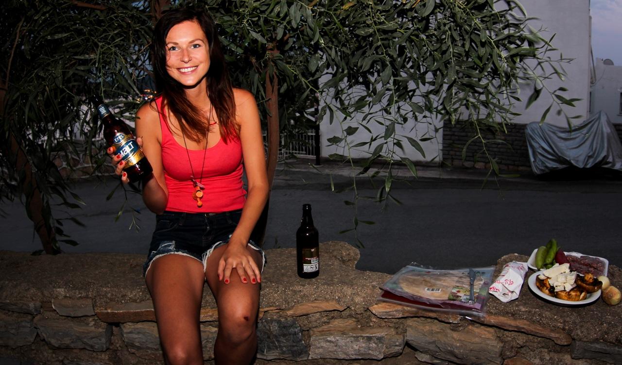 Pohoda s tureckým pivem Efes