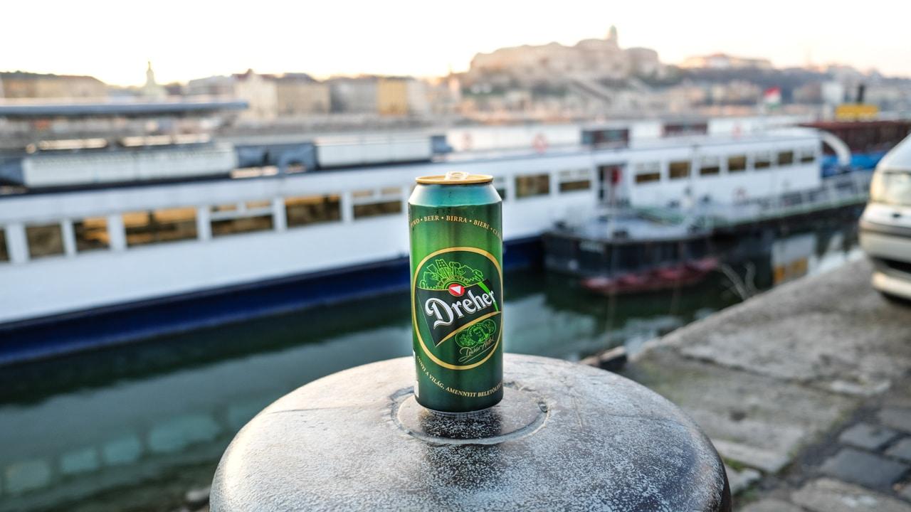 Maďarské pivo Dreher