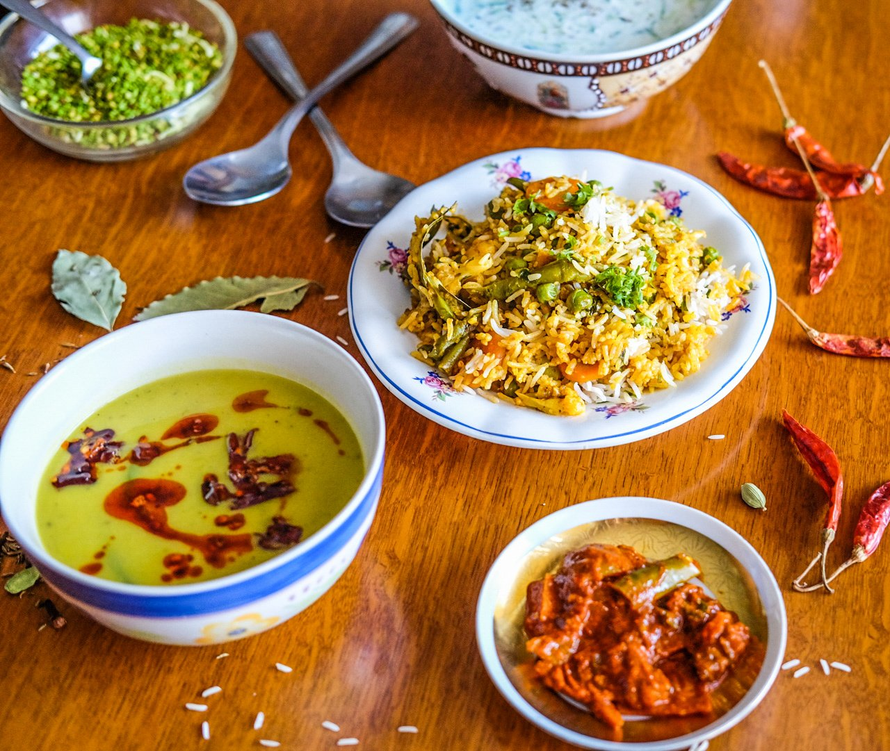Biryani – indická kořeněná rýže