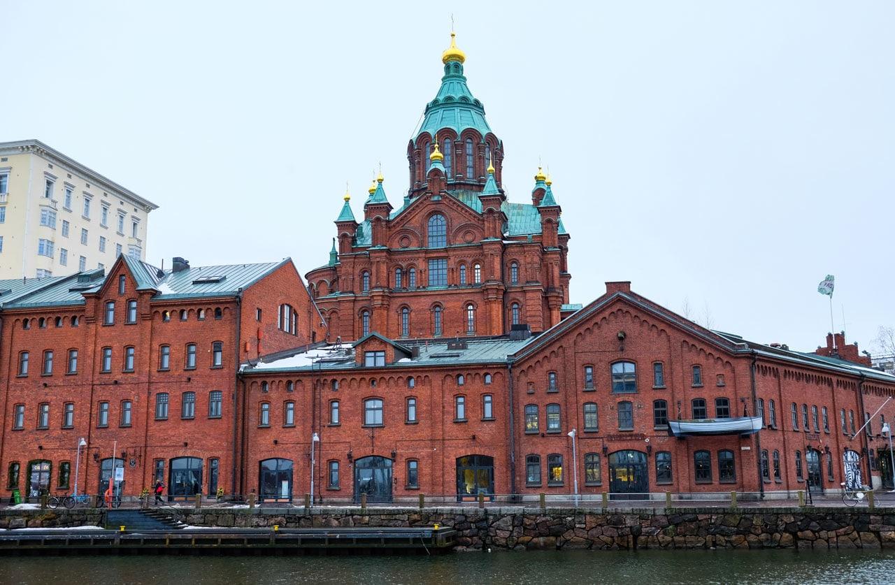 Elegantní město Helsinky