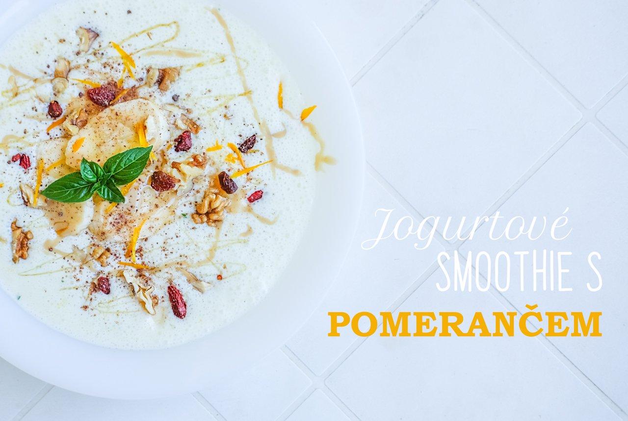 Jogurtové smoothie spomerančem