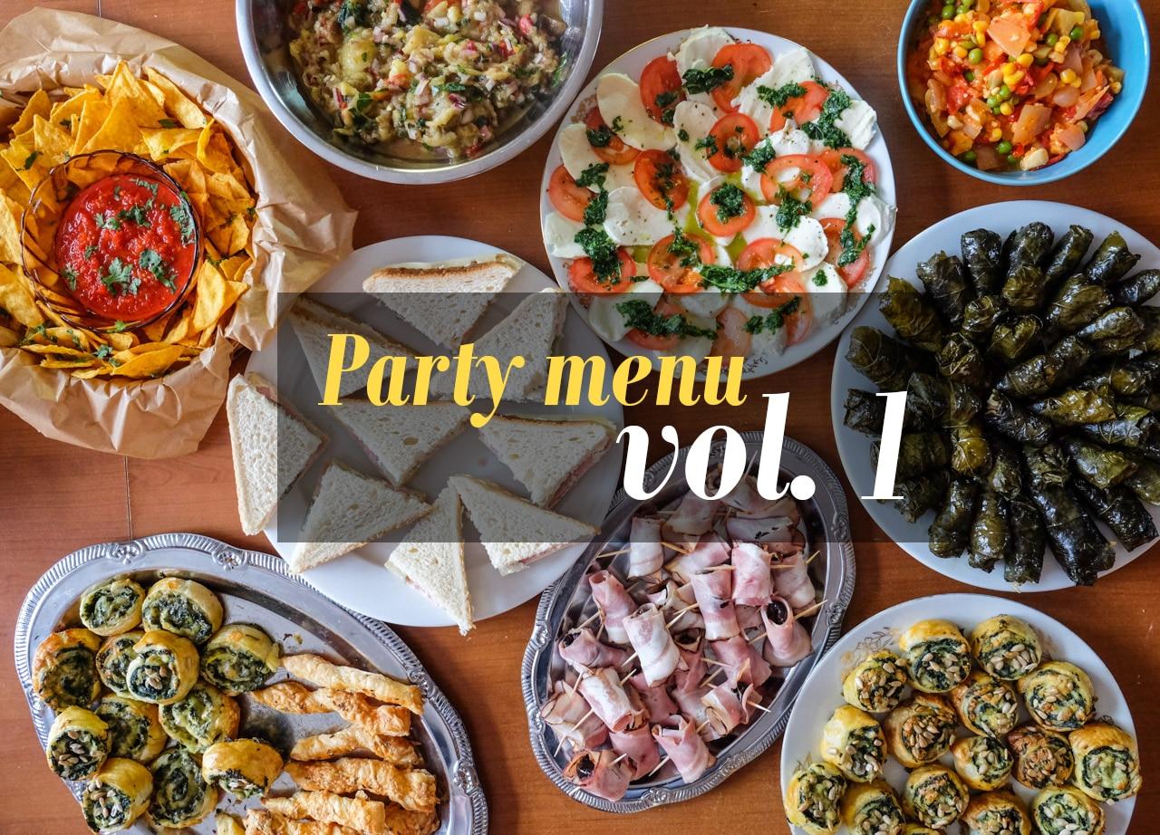 Party menu vol. 1
