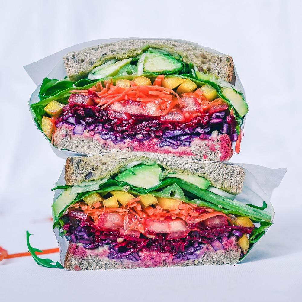 Duhový sendvič