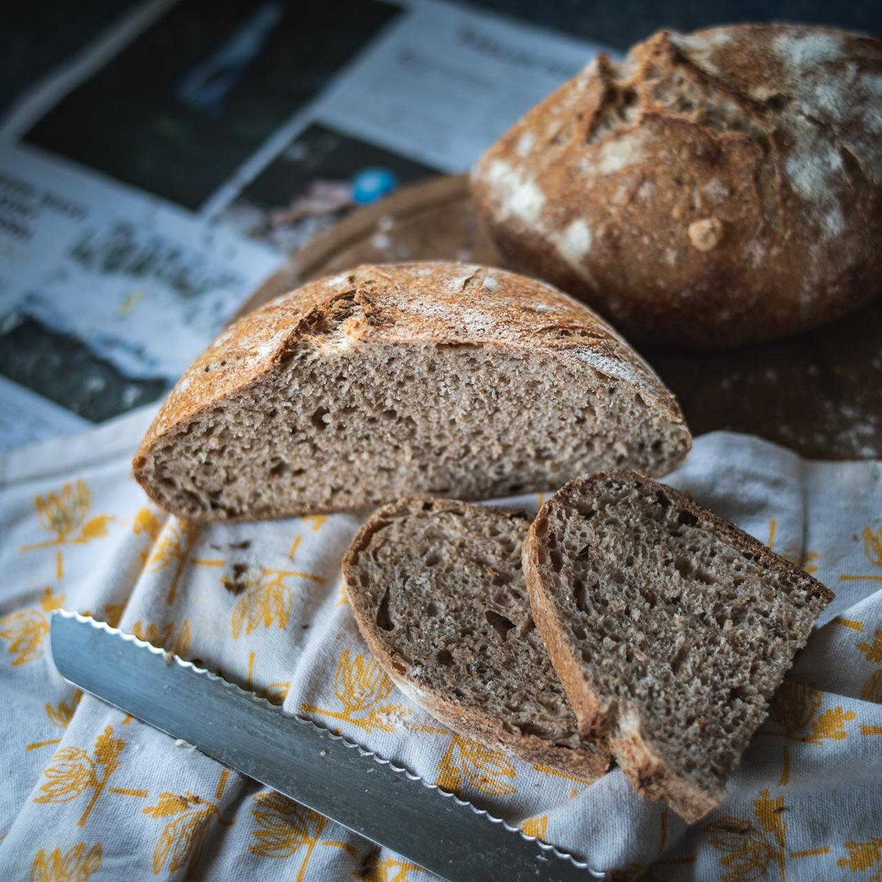 Domácí kváskový chléb – tajemství jednoduchosti